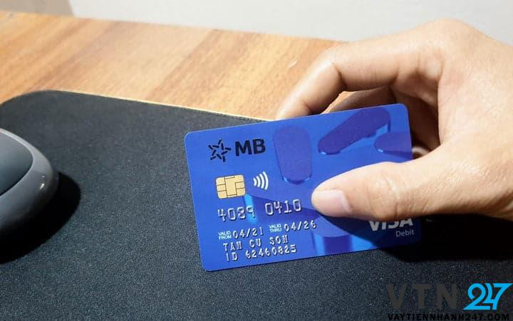 Thẻ ATM ngân hàng MB Bank