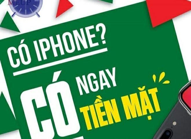 Vay tiền bằng iphone là gì?