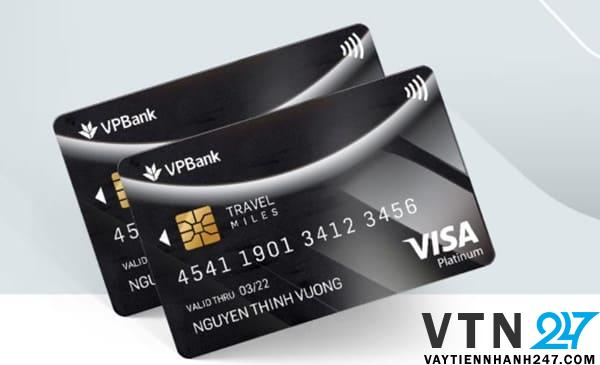 Ví dụ thẻ đen của VPBank